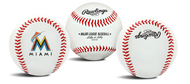 "Miami Marlins Rawlings ""The Original"" Team Logo Baseball"