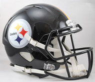 Pittsburgh Steelers NEW Riddell Full Size Authentic SPEED Helmet