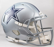 Dallas Cowboys NEW Riddell Full Size Authentic SPEED Helmet