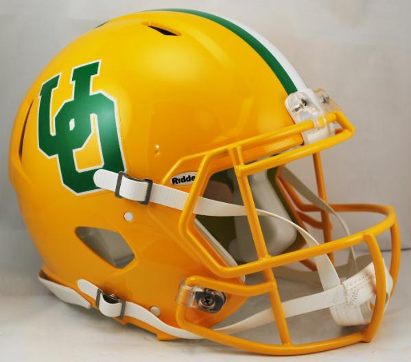 Oregon Ducks Throwback Riddell Full Size Authentic SPEED Proline Helmet.  Riddell. Image 1 3a59a8a03