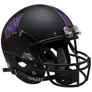 Washington Huskies Alternate BLACK Schutt Mini Authentic Helmet