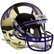 Washington Huskies Alternate CHROME Schutt Mini Authentic Helmet