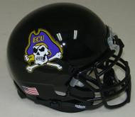 East Carolina Pirates Alternate 2 Jolly Roger Schutt Mini Authentic Helmet