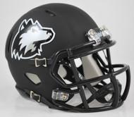 Northern Illinois Huskies Alternate Matte Black NCAA Revolution SPEED Mini Helmet