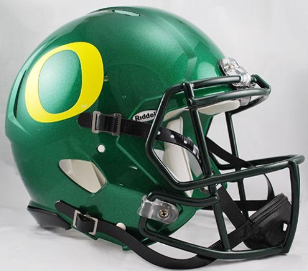 Oregon Ducks Riddell Full Size Authentic SPEED Proline Helmet. Rawlings ·  Image 1 8ec1316bc