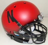 Nebraska Cornhuskers Alternate Scarlet Black Fade Schutt Full Size Replica Helmet
