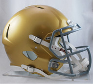 Notre Dame Fighting Irish NEW Riddell Full Size Authentic SPEED Helmet