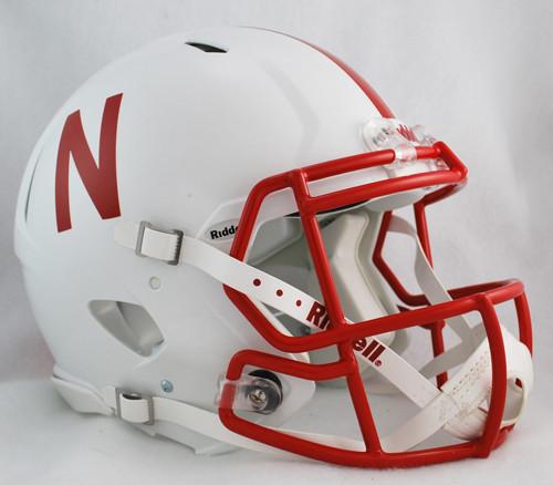 Nebraska Cornhuskers NEW Riddell Full Size Authentic SPEED Helmet 156f2fe6e