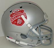 Ohio State Buckeyes 2014 National Champions Schutt Full Size Replica Helmet