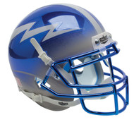 Air Force Falcons Alternate Blue Grey Chrome Schutt Mini Authentic Helmet