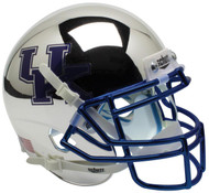 Kentucky Wildcats Alternate Silver Chrome Schutt Mini Authentic Helmet