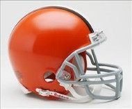 Cleveland Browns 2006-2014 Throwback Riddell Mini Helmet
