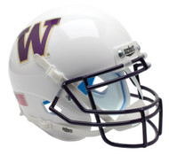 Washington Huskies Alternate WHITE Schutt Mini Authentic Helmet