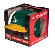 Oakland A's MLB Rawlings Replica MLB Baseball Mini Helmet