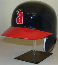 Angels Rawlings LEC Throwback (with small a) Full Size Baseball Batting Helmet