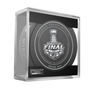 2015 NHL Stanley Cup Finals Playoff Sherwood Official Game Puck - Game 6 (Six)