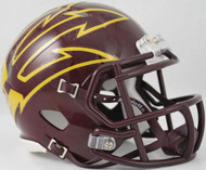 Arizona State Sun Devils Maroon LARGE FORK Revolution SPEED Mini Helmet