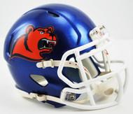 Coast Guard Bears NCAA Riddell Speed Mini Helmet