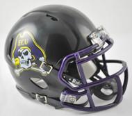 East Carolina Pirates Alternate BLACK NCAA Revolution SPEED Mini Helmet