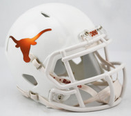 Texas Longhorns Alternate Chrome NCAA Riddell SPEED Mini Helmet