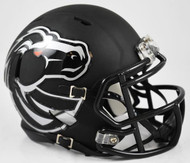 Boise State Broncos Black Revolution SPEED Mini Helmet