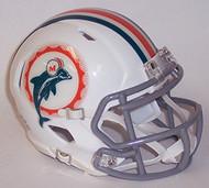Miami Dolphins 1966 Tribute Revolution SPEED Mini Helmet