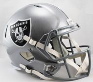 Oakland Raiders SPEED Riddell Full Size Replica Helmet