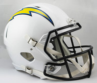 Los Angeles Chargers SPEED Riddell Full Size Replica Helmet