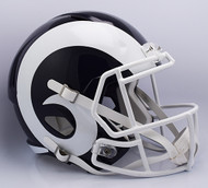 Los Angeles Rams SPEED Riddell Full Size Replica Helmet - New 2017 Logo