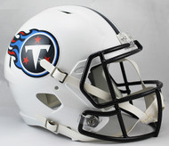 Tennessee Titans NFL Throwback 1999-2017 SPEED Riddell Full Size Replica Helmet