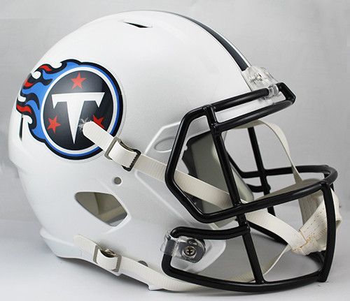 b6523fd2a Tennessee Titans NFL Throwback 1999-2017 SPEED Riddell Full Size Replica  Helmet. Riddell. Image 1