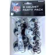 Carolina Panthers Gumball Party Pack Helmets (Pack of 8)