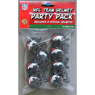 Denver Broncos Gumball Party Pack Helmets (Pack of 8)