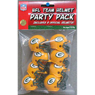 Green Bay Packers Gumball Party Pack Helmets (Pack of 8)