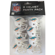 Miami Dolphins Gumball Party Pack Helmets (Pack of 8)