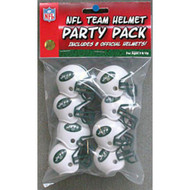 New York Jets Gumball Party Pack Helmets (Pack of 8)