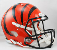 Cincinnati Bengals NEW Riddell Full Size Authentic SPEED Helmet