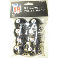 Pittsburgh Steelers Gumball Party Pack Helmets (Pack of 8)