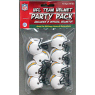 Los Angeles Chargers Gumball Party Pack Helmets (Pack of 8)