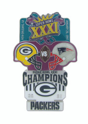 Super Bowl XXXI (31) Commemorative Lapel Pin