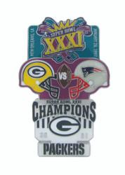 Super Bowl XXXI (31) Commemorative Lapel Pin