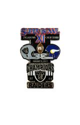Super Bowl XI (11) Commemorative Lapel Pin