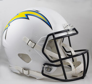 Los Angeles Chargers NEW Riddell Full Size Authentic SPEED Helmet