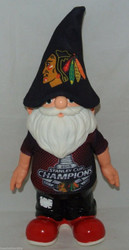 NHL Chicago Blackhawks 2015 Stanley Cup Champions Garden Gnome