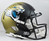 Jacksonville Jaguars NEW Riddell Full Size Authentic SPEED Helmet