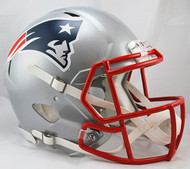 New England Patriots NEW Riddell Full Size Authentic SPEED Helmet