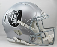 Oakland Raiders NEW Riddell Full Size Authentic SPEED Helmet