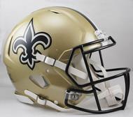 New Orleans Saints NEW Riddell Full Size Authentic SPEED Helmet