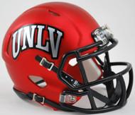 UNLV Runnin Rebels Alternate Satin Red NCAA Riddell SPEED Mini Helmet