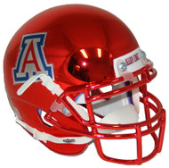 Arizona Wildcats Red Chrome Schutt Mini Authentic Helmet